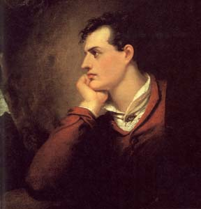 Lord Byron by Richard Westall