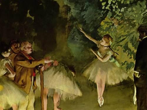"""""""Ballet Class"""" by Edgar Degas"""
