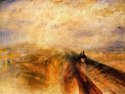 <i> Rain, Steam and Speed </i> by J.M.W. Turner, 1844