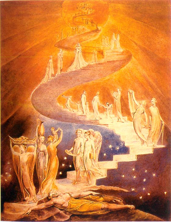 Jacob's Ladder - William Blake