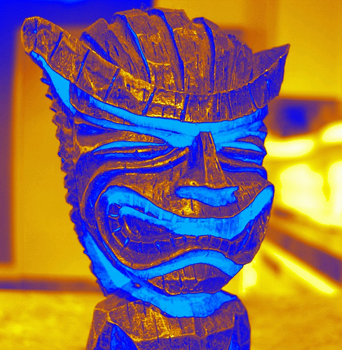 """Tiki Alien from flickr.com/pete4ducks"