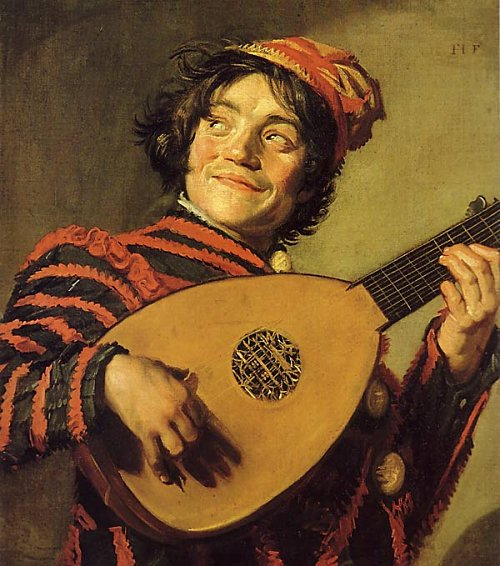 The Lute Player - Frans Hals