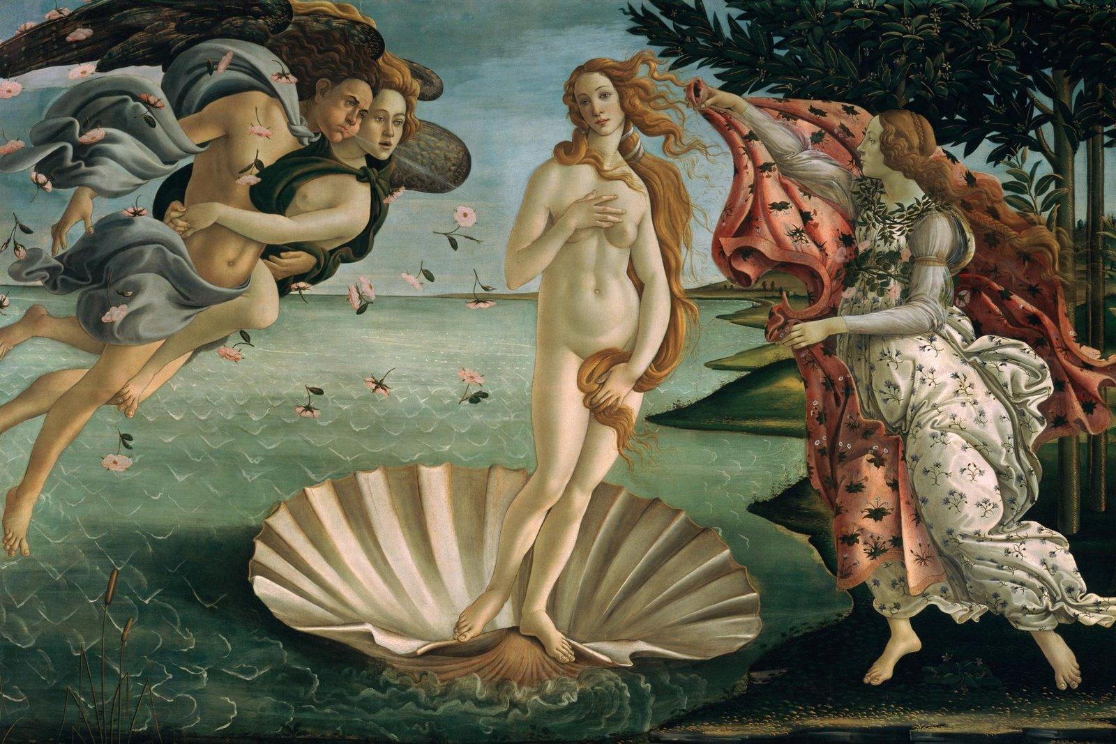 Birth of Venus, Botticelli