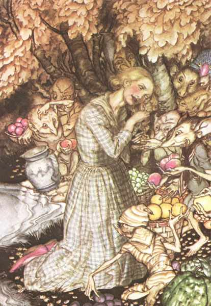 an apple gathering by rossetti Rossetti/the poetic voice of this poem is seeking a spiritual rebirth to give her life meaning  one thought on  a better resurrection  ← an apple gathering.