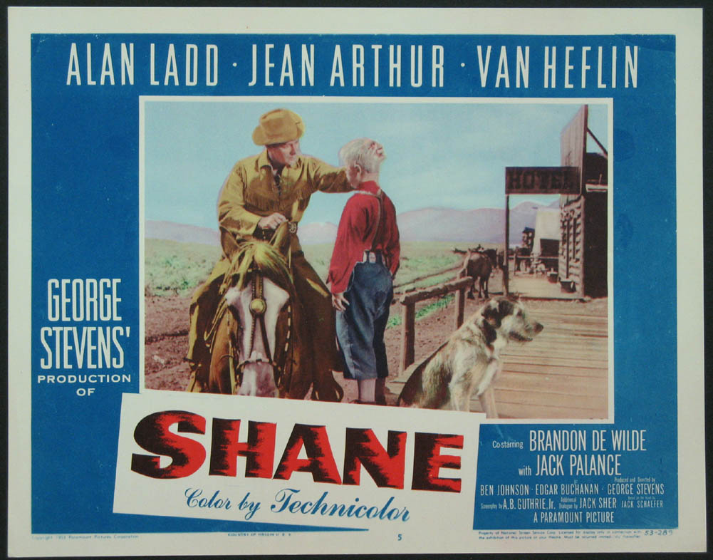 An analysis of the movie shane by george stevens
